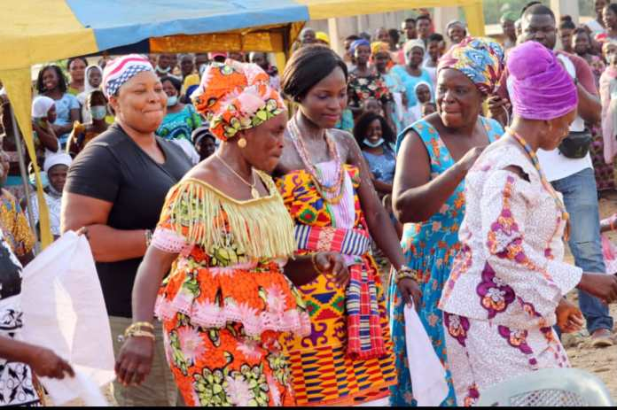 Ekumfi Abor holds puberty rite for young women