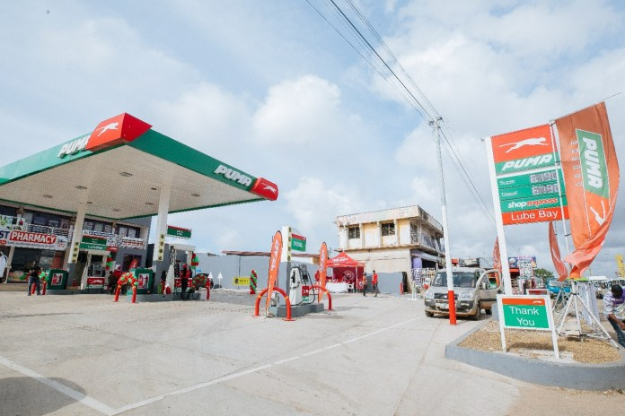 Puma Energy opens in Odorkor