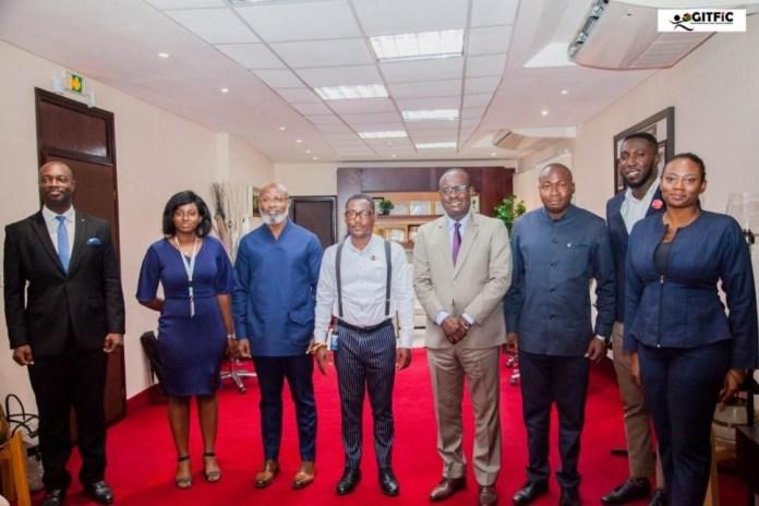 GITFiC pays courtesy calls at WAMI, Ecowas Bank