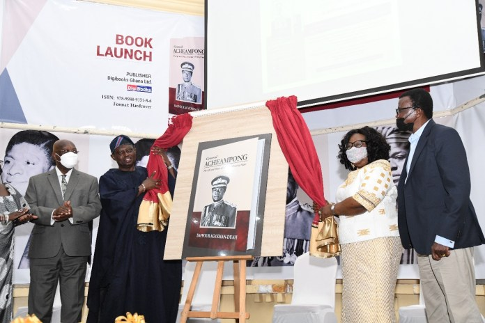 Book on the Life and Work of General Acheampong Launched on his 90th birthday