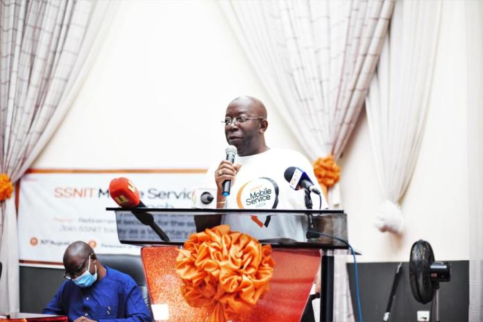 Over 10,000 people visit SSNIT's Mobile Service Centres in 3 days