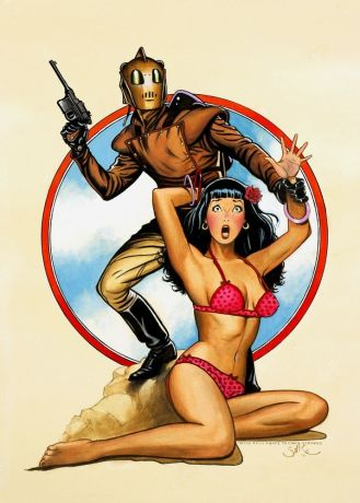 jim silke rocketeer