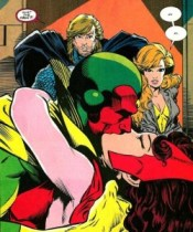 vision and scarlet
