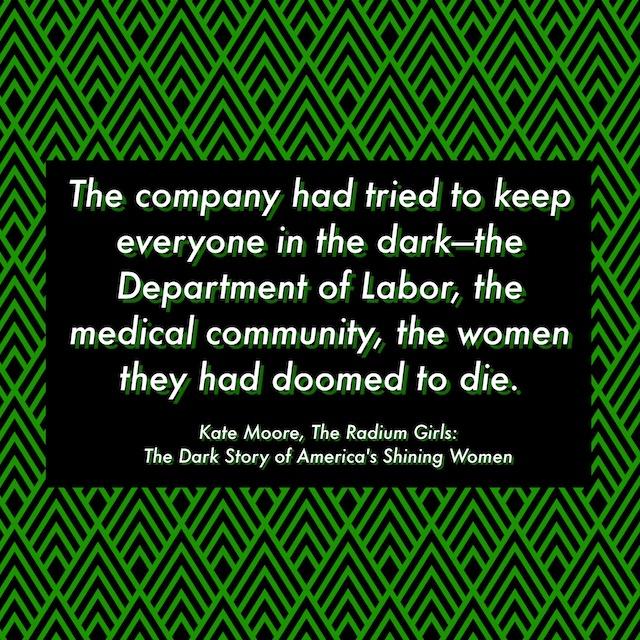 Book Review: The Radium Girls