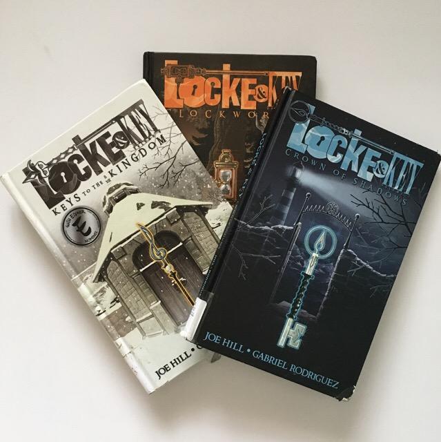 Graphic Novel Review: Locke & Key series by Joe Hill and Gabriel Rodriguez