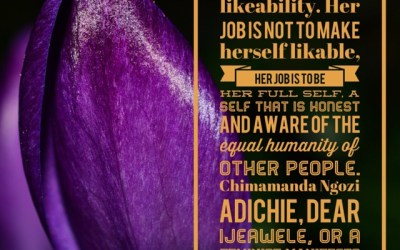 Book Review: Dear Ijeawele, or a Feminist Manifesto in Fifteen Suggestions by Chimamanda Ngozi Adichie