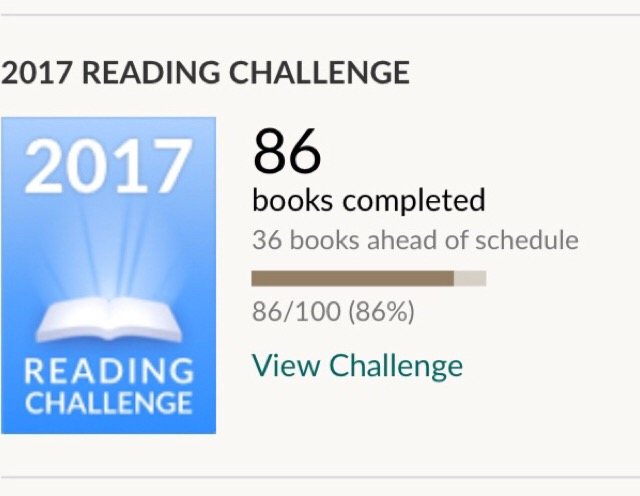 Reading Challenges 2017 Part One