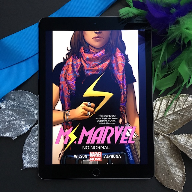 Graphic Novel Review: Ms. Marvel, Vol. 1: No Normal by G. Willow Wilson, Adrian Alphona (Artist)