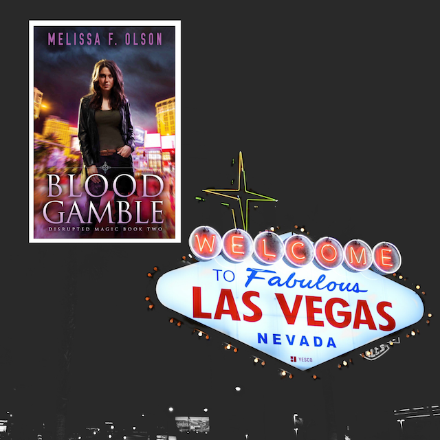 Blood Gamble by Melissa F. Olson