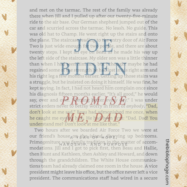 Book Review: Promise Me, Dad by Joe Biden