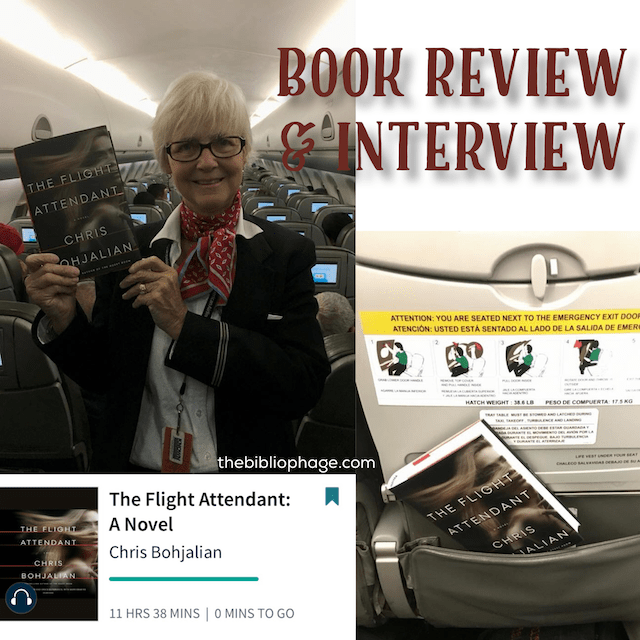 Book Review and Interview: The Flight Attendant by Chris Bohjalian