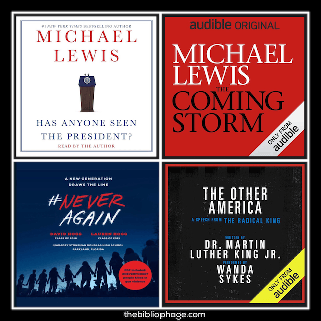 Four Short Audiobooks