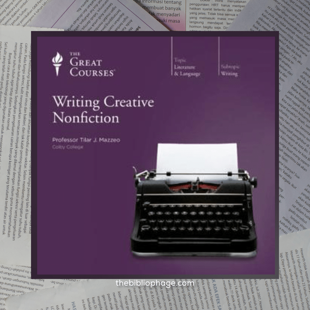 Tilar Mazzeo: Writing Creative Nonfiction