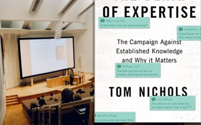 Tom Nichols — The Death of Expertise (Book Review)