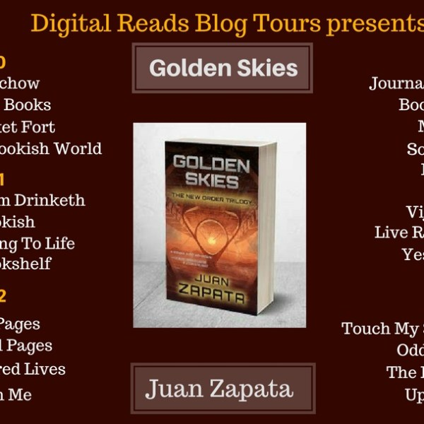 Blog Tour: Golden Skies – Juan Zapata