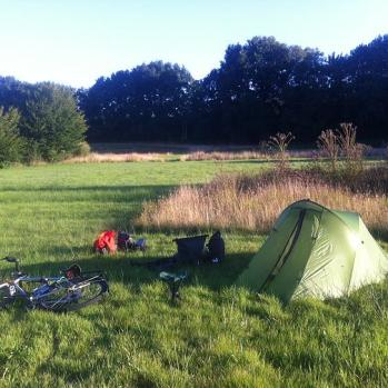Camping Spot #1 Nail it. I'm clearly a natural at this vagrancy thing