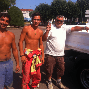 My pick-up truck saviours I make sure I only flag down trucks driven by semi-naked men.