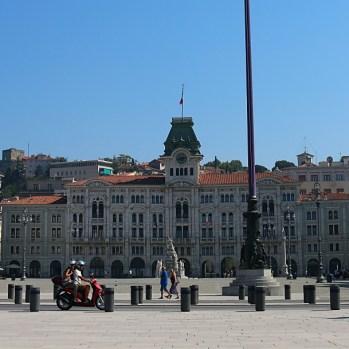 Central square in Trieste