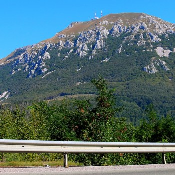Mountain en route to Slovenian border