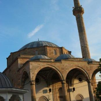 The Sultan Mehmet Fatih Mosque (or Imperial Mosque), built in 1460–1461 during the reign of the Ottoman Sultan Mehmet II.