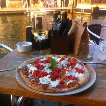 Best pizza (in best setting) I have eaten to date