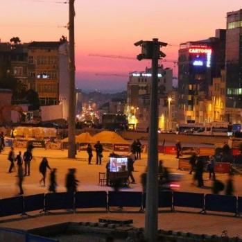 Taksim Square, finally!