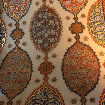 Topkapi Palace wall designs.
