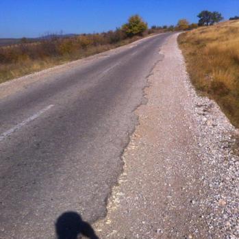 Seems to be distinct tarmac shortage in Bulgaria.