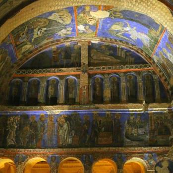 Tokali church frescoes, which date back to the early 10th century, depicting stories from the Bible.