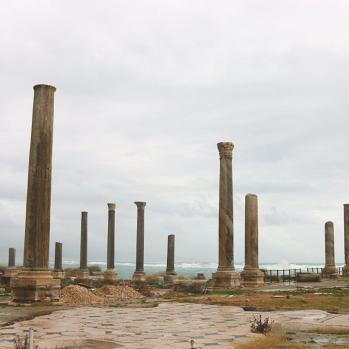 Roman ruins in Sur, which reportedly dates back to the Phoenicians in 2750BC.