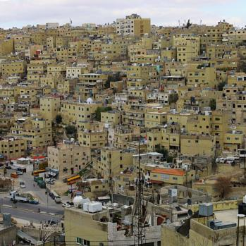 View from the Amman Citadel, considered to be among the world's oldest continuously inhabited places.