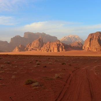 Feels like surface of Mars - and in fact was used as the setting for the Matt Damon film the Martian.