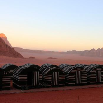 6.30am sunrise at the camp. An ice cold shower, then back on the road again.
