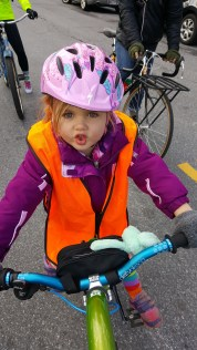 Our youngest rider of the day.