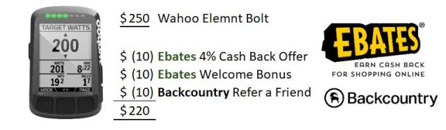 Wahoo Elemnt Bolt Coupon Code - thebidon