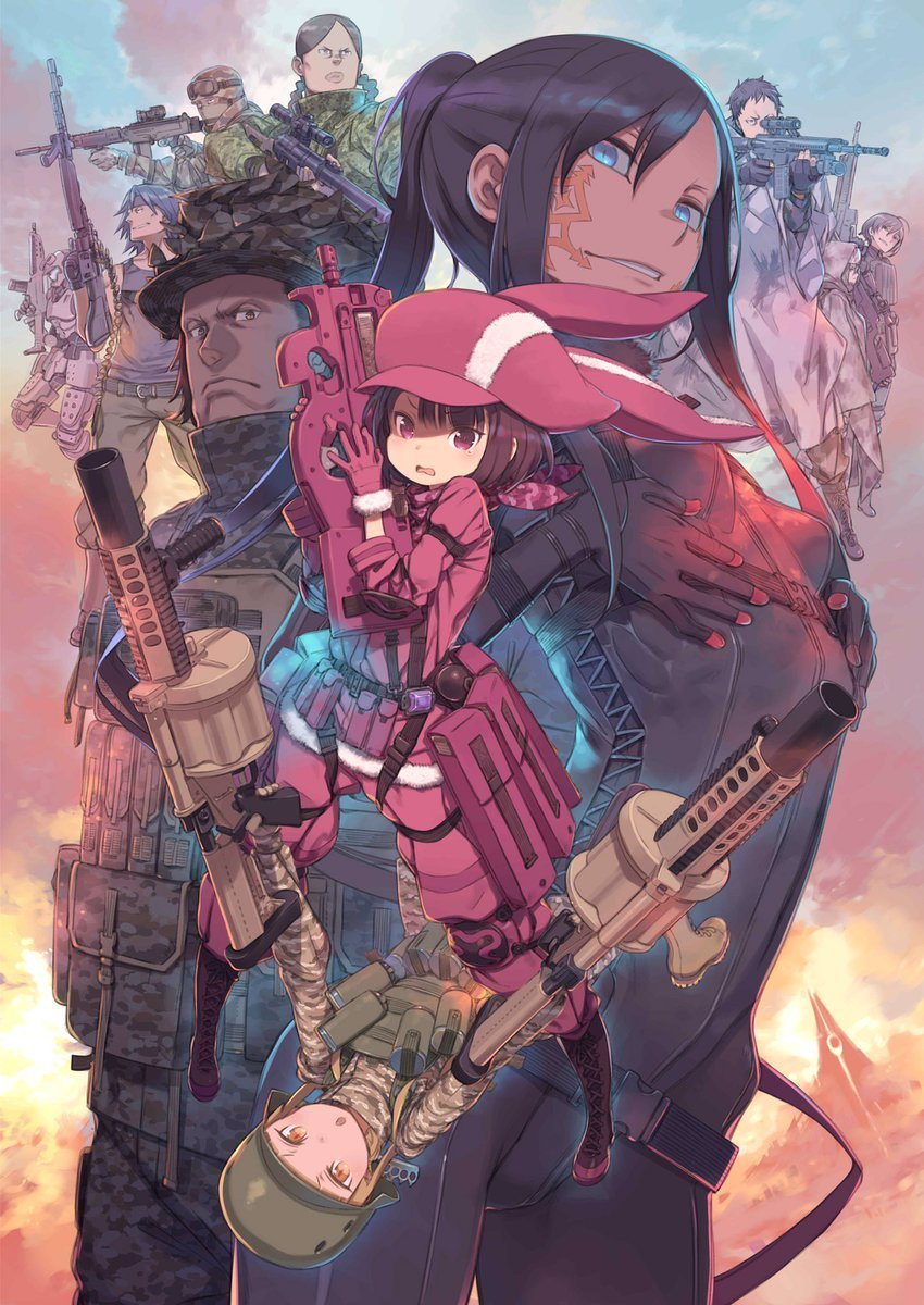 Sword Art Online Alternative Gun Gale Online Poster