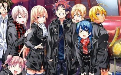 Shokugeki no Souma season 4 new opening and ending theme