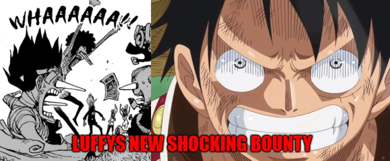 What is the current bounty of the Straw Hat pirates? And Luffy's new shocking bounty