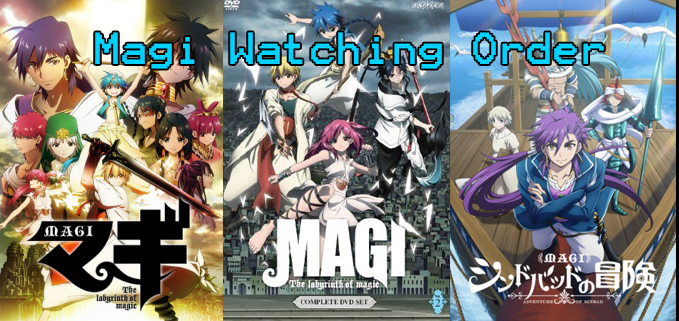 What is the Magi watching order? Anime FAQ