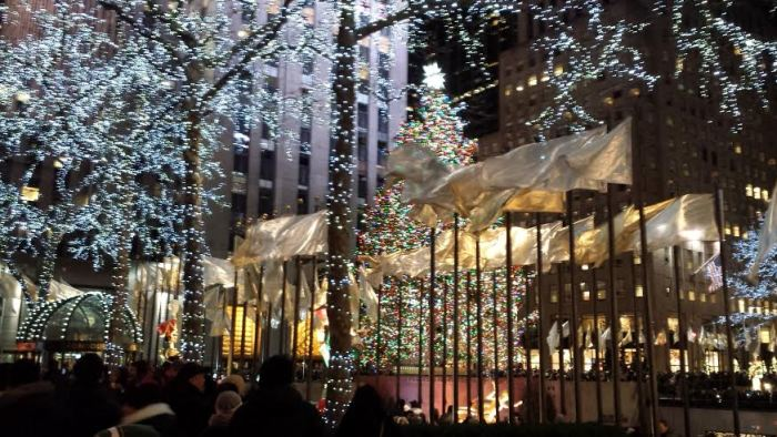 Rockefeller Center Plaza new years eve