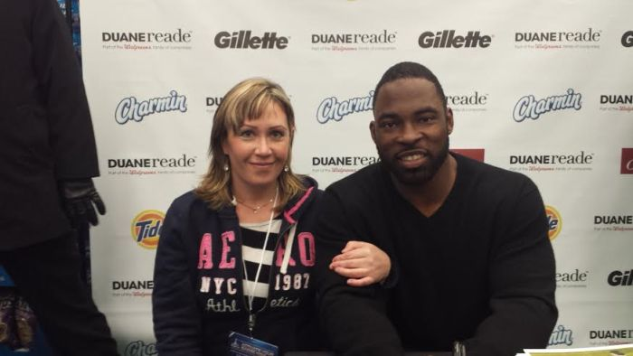Giants Justin Tuck and I