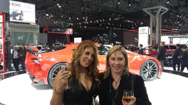The New York International Auto show Lizza