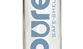 PURE Glass Water Bottle with Safe-Shell coating: Review + Video