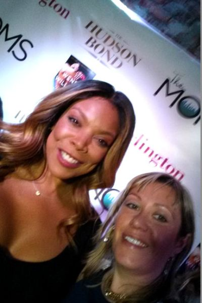 Celebrating My Burlington Outfit of the day with Wendy Williams and The MOMS