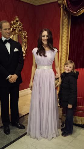 prince Charles and Kate Madame Tussauds nyc