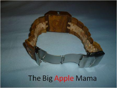 Jord wood watches stainless steel clasp