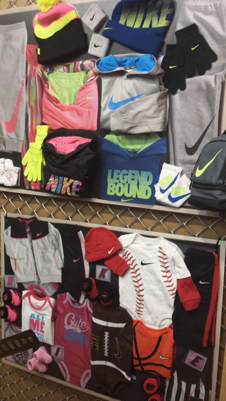 nike kids clothing