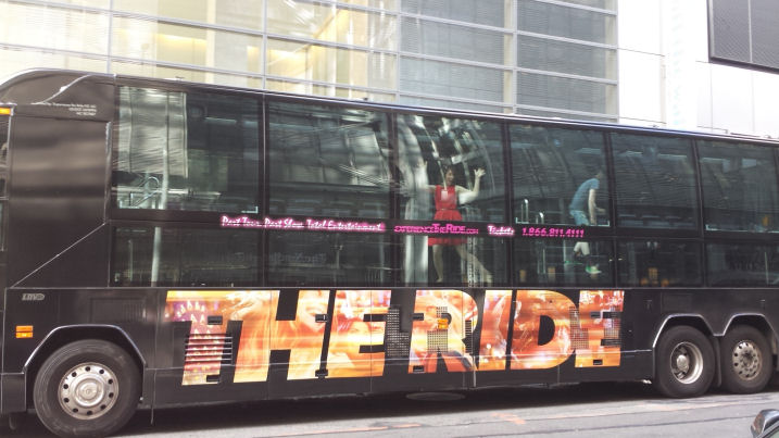 the ride tour bus