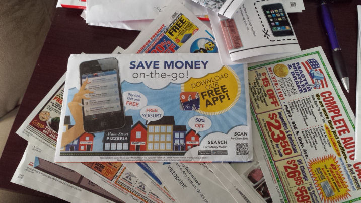 money mailer-save money on the go