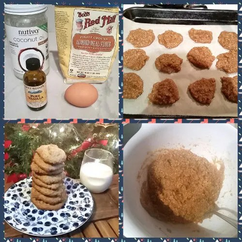 healthy sugar cookies ingredients